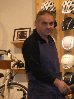 Patrick en atelier