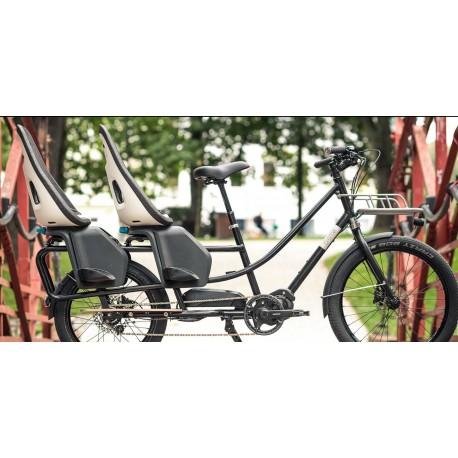 Vélo Longtail Creme Happy Wagon